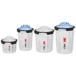 3M PPS Serie 2.0 650 ml, 125µ, 50 Innenbecher + 50 Filterdeckel