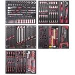 """KRAFTWERK Assortiment d'outils, EVA, 1/4"""" + 3/8"""" + 1/2"""", 280 -pièces"""