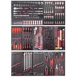 """KRAFTWERK Assortiment d'outils, EVA, 1/4"""" + 3/8"""" + 1/2"""", PB+HT, 271 -"""