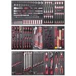 """KRAFTWERK Assortiment d'outils, EVA, 1/4"""" + 3/8"""" + 1/2"""", 264 -pièces"""