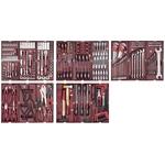 """KRAFTWERK Assortiment d'outils, PS, 1/4"""" + 3/8"""" + 1/2"""", 290 -pièces,"""