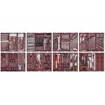 KRAFTWERK Assortiment d'outils COMPLETO 548-pièces, 6 tiroirs, 4920