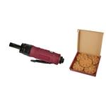 KRAFTWERK Druckluft-Radierer + Folienradierer (5 Stück)