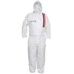 zaphiro costume de peinture, blanc, taille L