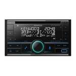 KENWOOD DPX7200DAB, DAB+ Radio, 2-DIN mit CD/USB-Receiver, Bluetooth,