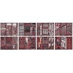 KRAFTWERK Assortiment d'outils COMPLETO 548-pièces, 6 tiroirs, 4920F