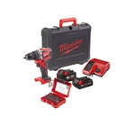 MILWAUKEE M18CBLPD-422C Perceuse à percussion à accu+Coffret SHOCKWAVE
