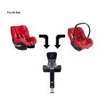 AVIONAUT Kindersitz PIXEL + IQ IsoFIX Base + AEROFIX - Warsaw Red