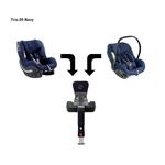 AVIONAUT Kindersitz PIXEL + IQ IsoFIX Base + AEROFIX - Istanbul Navy