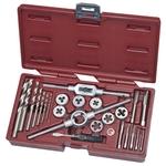 KRAFTWERK 24pz- Set di maschi e filiere + set di punte, HSS-G 3240MOD