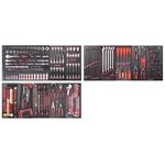 KRAFTWERK Ass. d'outils COMPLETO EVA 280pcs. 105.525.000