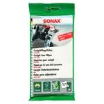 SONAX Chiffonettes pour cockpit effet mat, sachet de 10 pièces