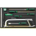 STAHLWILLE Werkzeug im TCS 12025-13110/11, 11-teilig, 3/3-Teilung