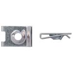 Blechmuttern 4,8mm - Form 1, Pack à 100 Stück