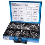 Assortiment de colliers à tuyaux Norma 8-12 à 32-50