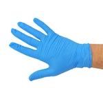 Handschuhe Nitril, blau, gepudert, Grösse L, 100 Stk.