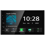 KENWOOD Autoradio DMX5020DABS Doppel DIN Monitor 17.3 cm DAB, Bluetooth, Apple Car Play, Android Auto