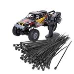 Aktionspaket Kabelbänder, schwarz inkl. JAMARA J-Rock Crawler 4WD