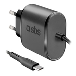 SBS Micro USB-Reiseladegerät 2100 mAh