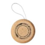 """ESA yo-yo en bois, marron, """"conduire, tout simplement"""""""