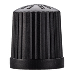 Ventilkappe plastik, schwarz, Packà100Stk.