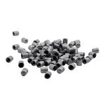 Bouchon de valve en plastique RDKS, gris, paquetde100pièces