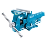 HEUER Parallel-Schraubstock, stahlgeschmiedet, Backenbreite 140mm,