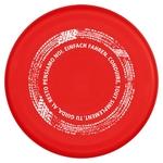 "ESA Frisbee, rot, ""Einfach Fahren"""