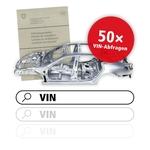 50 Requêtes VIN pour l'identification véhicule
