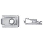 Blechmuttern mit Gewinde M6, selbstsichernd / L:23.8mm / B:16.0mm, Pack à 25 Stück