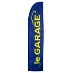 le GARAGE Beachflag-Set