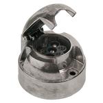 Steckdose 7-polig, Aluminium, 118510M