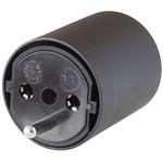 Fiche Schuko Fix Adapter DE sur CH 3 pol