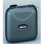 Beco CD-Album in Hängetasche, für 28 CD's, dunkel-silber
