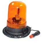 Drehleuchte gelb mit Magnet und Saugnapfhalterung, 12 und 24 V