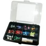 Assortimento di sicurezza Low Profile Mini, 71 pezzi assortiti con attrezzo di controllo sicurezza LED