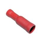 Douilles connecteur ronds isolés, 4 mm, rouge