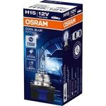 OSRAM Autolampe H15 Cool Blue Intense, 64176CBI, 12 V 55 / 15 W, PGJ23t-1, Blister-1