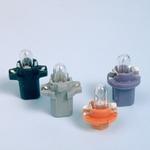OSRAM Autolampe 2351 MFX6, Miniwatt, 12 V 1.2 W, tiefschwarz, BX8.4d, Blister-1