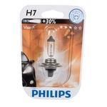 PHILIPS Ampoule auto H7, 12972/1 Vision (NPR), 12 V, 55 W, NPR (+ 30% delumière en plus), PX26D, blister-1