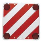 Überhangwarntafel rot/weiss Kunststoff 50 × 50 cm, CH/DE/AUT, nicht homologiertes/freigegebenes Produkt für Italien