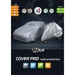 XLPT Cover Pro, Copertura completa per auto, misura H (lunghezza: 4 a 5.1 m altezza: 1.65 m) SUV/VAN