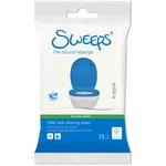 Sweeps Feuchttücher für den Toilettensitz, Beutel à 15 Stück