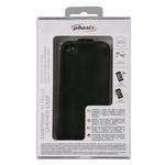 Phonix Handyhülle iPhone 4 Leder, schwarz