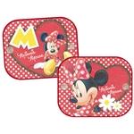 Protection solaire Minnie Mouse, rouge, 2 pièces, 36 × 44 cm