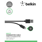 Belkin MIXIT Charge/Sync Cable, 2 m [Micro-B USB] - black