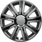 """Enjoliveurs de roue Mirage V Plus grey/black 17"""", jeu de 4 pièces"""