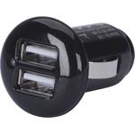 HR iMotion USB-Adapter, 2-fach, Anschluss über Zigarettenanzünder, (2.1 Amp)