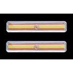 3-D Sticker Flag, Spagna, 1,5 x 7,5 cm