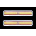 3-D Sticker Flag, Espagne, 1,5 x 7,5 cm